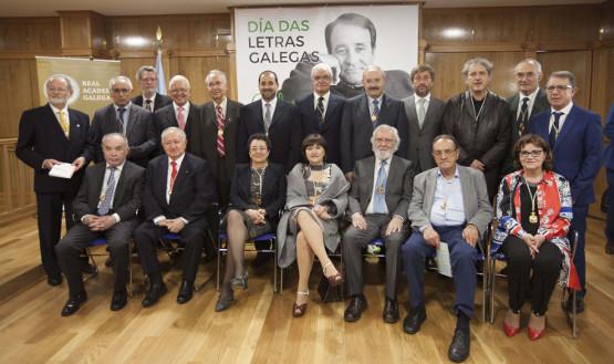 A Academia enxalza a obra de Casares no acto central do Día das Letras Galegas