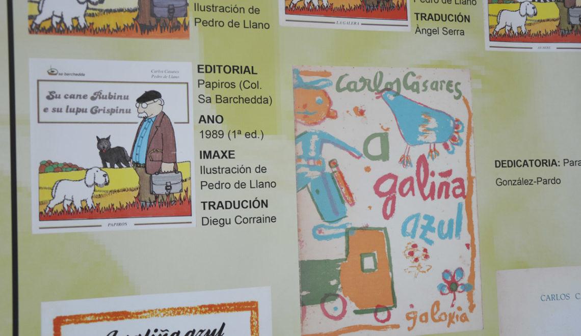 A exposición 'As caras dos libros' repasa en Ourense as capas na obra de Casares