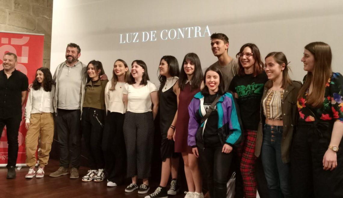 """A curta do taller audiovisual """"Luz de contra"""" enche na súa estrea"""