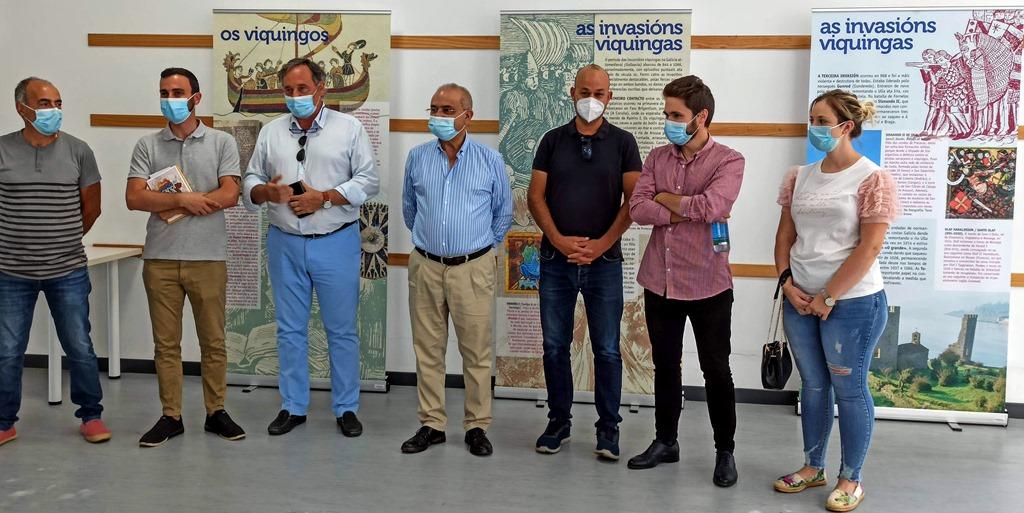 """A exposición """"Galicia escandinava"""" desembarca en Catoira"""