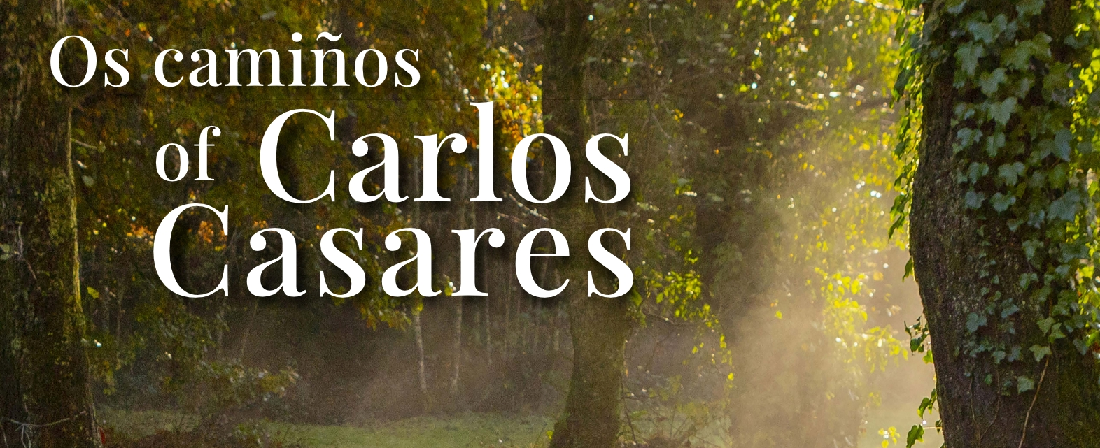 """Exposición """"Os Camiños de Carlos Casares"""" @ Centro Comarcal Pazo de San Tomé de Mondoñedo"""